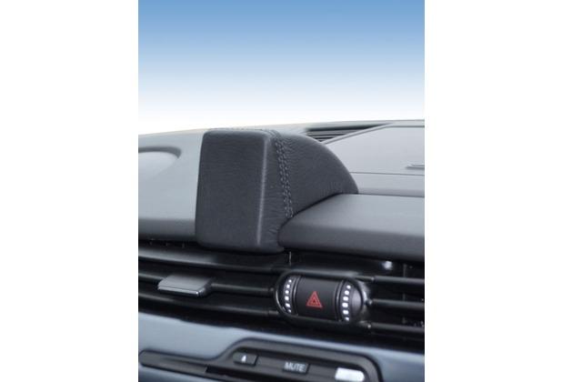 Kuda Navigationskonsole für Navi Alfa Romeo Giulietta ab 04/2010 Echtleder Schwarz