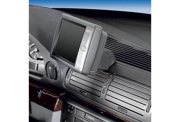 Kuda Navigationskonsole für Navi BMW 7er E38 ab 94 bis 01 Mobilia / Kunstleder schwarz