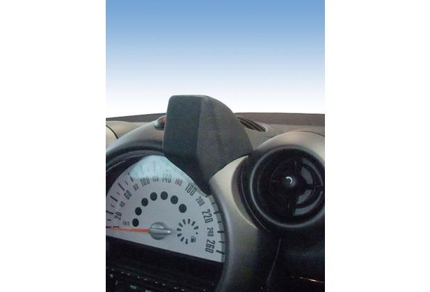 Kuda Navigationskonsole für Navi BMW Mini Countryman ab 09/2010 Mobilia Kunstleder schwarz