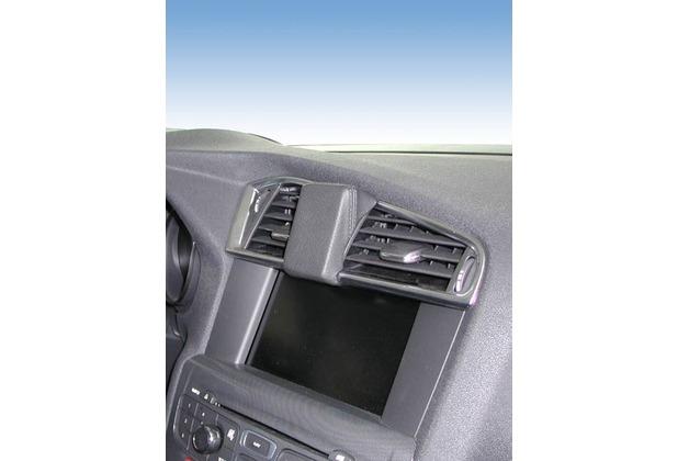Kuda Navigationskonsole für Navi Citroen C4 10/2010- & DS4 05/2011- Mobilia / Kunstleder schwarz