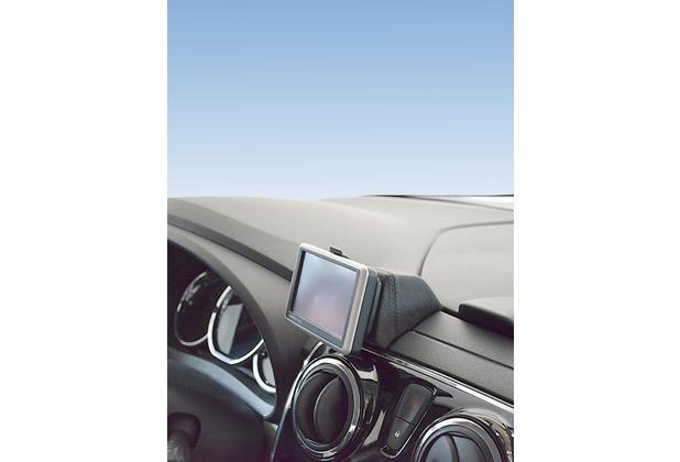 Kuda Navigationskonsole für Navi Dacia Lodgy ab 2012 Mobilia / Kunstleder schwarz