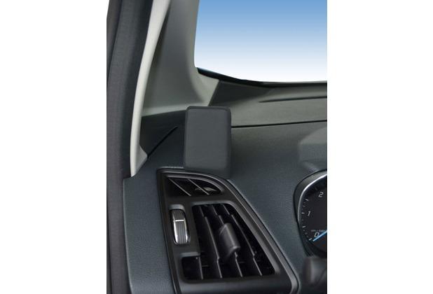 Kuda Navigationskonsole für Navi Ford C-Max / Grand C-Max ab 12/2010 Mobilia / Kunstleder schwarz