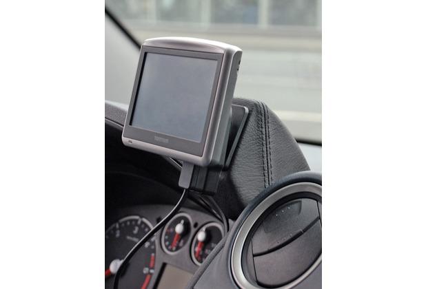 Kuda Navigationskonsole für Navi Ford Transit Connect 2009 Mobilia / Kunstleder schwarz