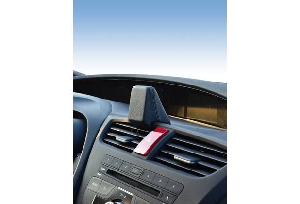Kuda Navigationskonsole für Navi Honda Civic ab 02/2012 Echtleder schwarz