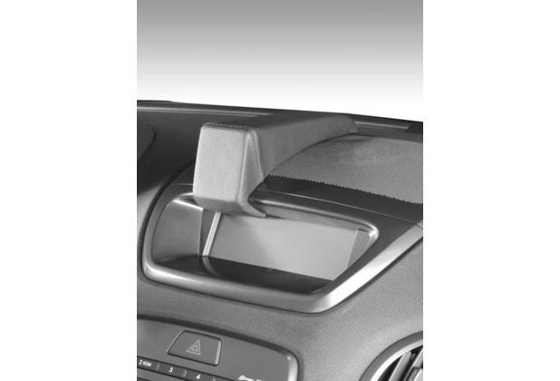 Kuda Navigationskonsole für Navi Hyundai Genesis Coupe ab 10/2010 Mobilia/ Kunstleder schwarz