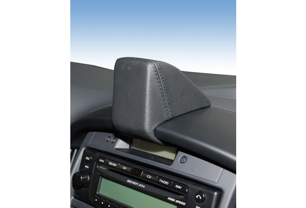 Kuda Navigationskonsole für Navi Hyundai H1 ab 01/08 Mobilia / Kunstleder schwarz