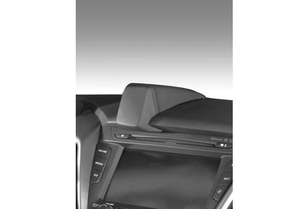 Kuda Navigationskonsole für Navi Hyundai Veloster ab 10/2011 Mobilia/ Kunstleder schwarz