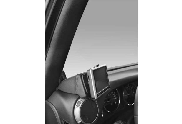 Kuda Navigationskonsole für Navi Jeep Wrangler Echtleder schwarz