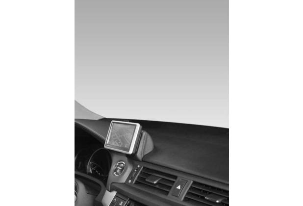 Kuda Navigationskonsole für Navi Lexus CT 200H ab 03/2011 Mobilia / Kunstleder schwarz