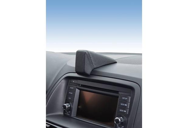 Kuda Navigationskonsole für Navi Mazda CX-5 ab 04/2012 Mobilia / Kunstleder schwarz