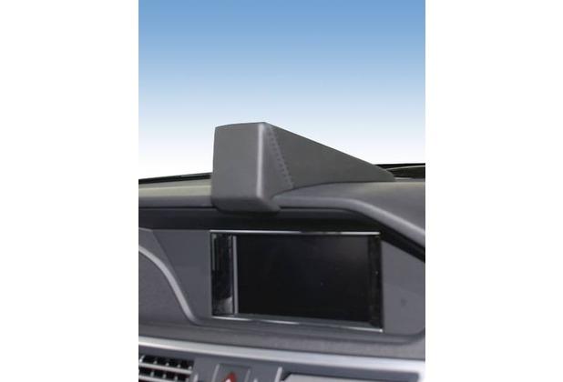 Kuda Navigationskonsole für Navi MB E-Klasse W212 03/2009- & ab 2012 GLK 2013- Mobilia Kunstleder schwarz