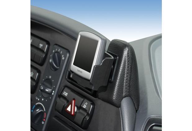 Kuda Navigationskonsole für Navi Mercedes-Benz Actros ab 03/03 Mobilia / Kunstleder schwarz