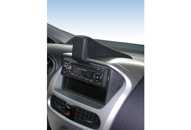 Kuda Navigationskonsole für Navi Mitsubishi iMiev ab 2009 Mobilia / Kunstleder schwarz