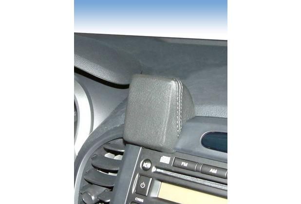 Kuda Navigationskonsole für Navi Nissan Juke ab 10.2010 Mobilia / Kunstleder schwarz