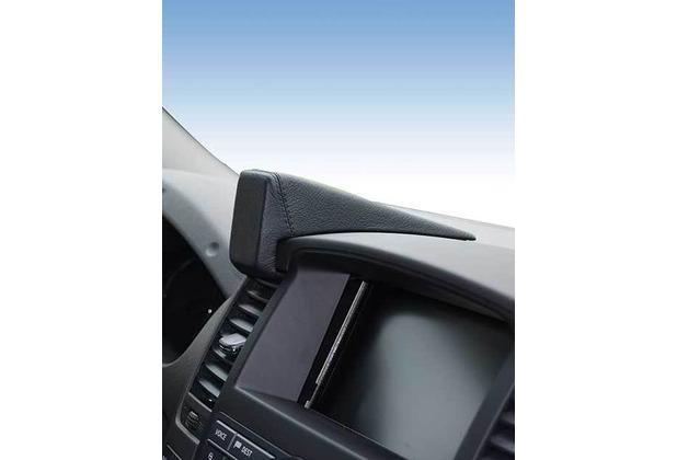 Kuda Navigationskonsole für Navi Nissan Pathfinder ab 2007 / Navara Mobilia / Kunstleder schwarz