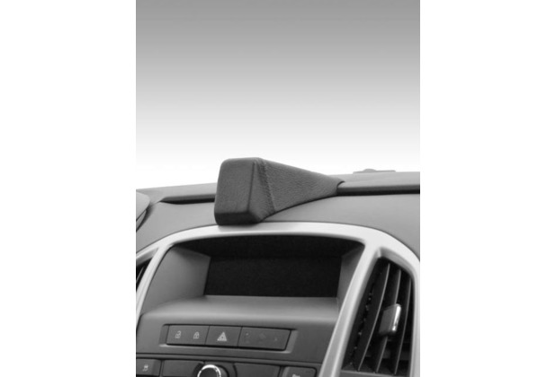 Kuda Navigationskonsole für Navi Opel Astra J ab 2009 Mobilia / Kunstleder schwarz