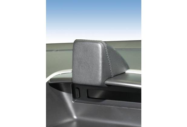 Kuda Navigationskonsole für Navi Peugeot 206+ 03/2009 Mobilia/ Kunstleder schwarz