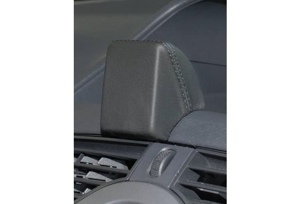 Kuda Navigationskonsole für Navi Renault Kangoo ab 2008 bis 2013 Echtleder schwarz
