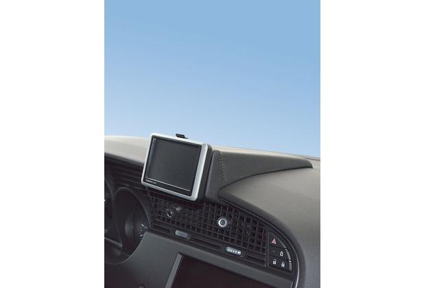 Kuda Navigationskonsole für Navi Saab 9-5 ab 06/2010 Mobilia / Kunstleder schwarz
