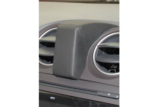 Kuda Navigationskonsole für Navi Seat Ibiza ab 06/2008 Mobilia / Kunstleder schwarz