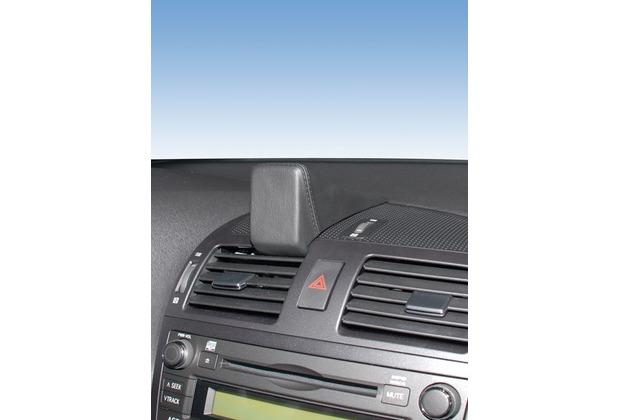 Kuda Navigationskonsole für Navi Toyota Avensis (01.2009-) Mobilia / Kunstleder schwarz