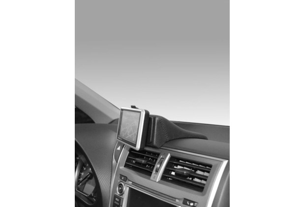 Kuda Navigationskonsole für Navi Toyota Verso S ab 03/2011 Mobilia / Kunstleder schwarz