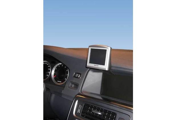 Kuda Navigationskonsole für Navi Volvo S60 & V60 ab 2010 Echtleder schwarz