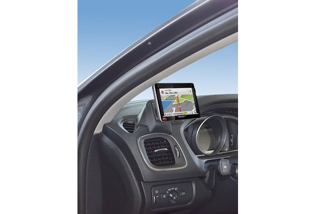 Kuda Navigationskonsole für Navi Volvo V40 ab 10/2012/Cross Country Mobilia / Kunstleder schwarz