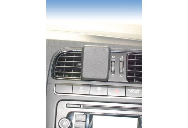 Kuda Navigationskonsole für Navi VW Polo 6R (06.2009-) Mobilia / Kunstleder schwarz