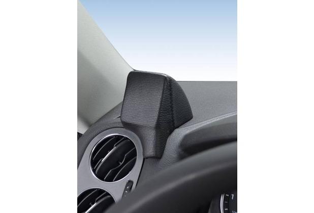 Kuda Navigationskonsole für Navi VW Tiguan ab 10/07 Mobilia / Kunstleder schwarz