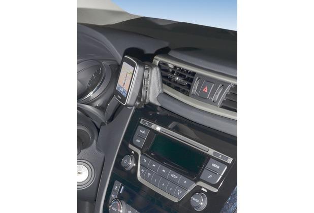 Kuda Navigationskonsole für Nissan Qashqai ab 11/2013 (J11) /X-Trail Navi Kunstleder schwarz