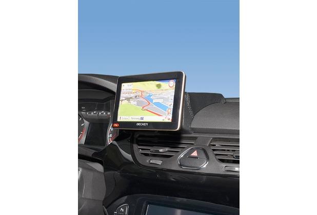 Kuda Navigationskonsole für Opel Corsa E ab 2014 Navi Kunstleder schwarz