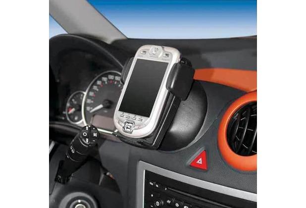 Kuda Navigationskonsole für Peugeot 1007 ab 07/05 Echtleder