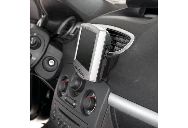 Kuda Navigationskonsole für Renault Clio III ab 10/05 Echtleder