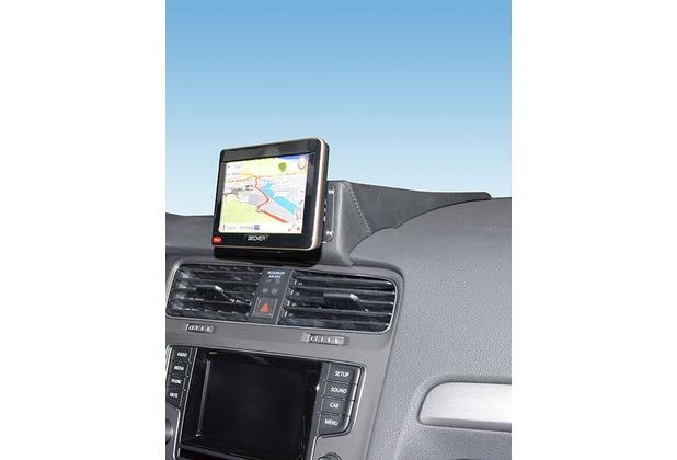 Kuda Navigationskonsole für VW Golf 7 ab 2012 Navi Kunstleder schwarz