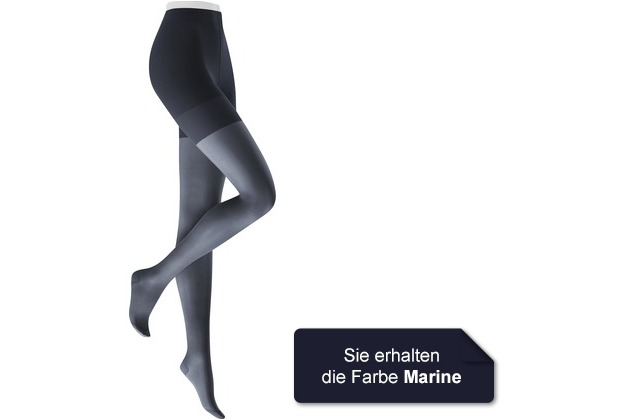 Kunert Damen Fein Strumpfhose Fly & Care 40 Marine 36/38
