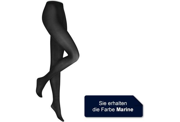 Kunert Damen Fein Strumpfhose Satin Look 40 Marine 36/38
