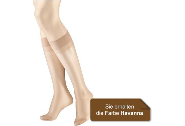 Hudson Fein Kniestrumpf 2er Pack Lilly Lafina Havanna 35/41