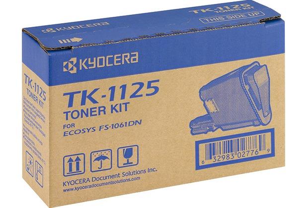 Kyocera Lasertoner TK-1125 schwarz 2.100 Seiten