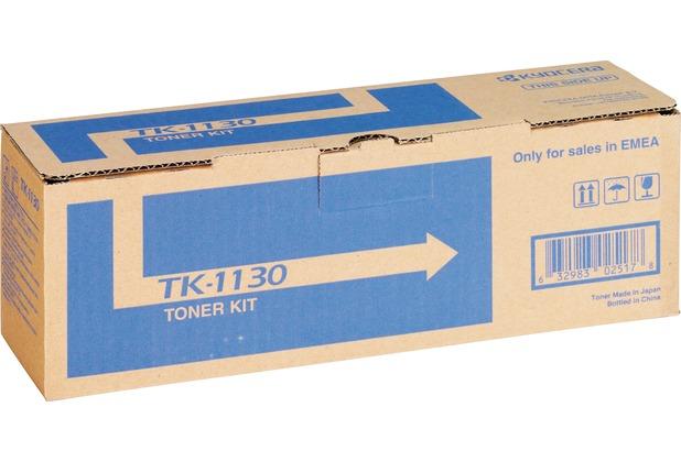 Kyocera Lasertoner TK-1130 schwarz 3.000 Seiten