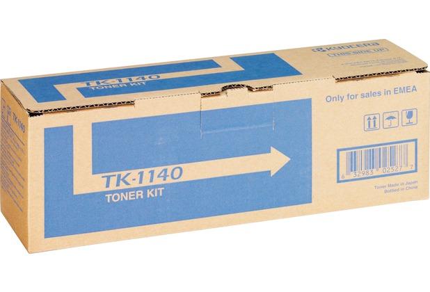 Kyocera Lasertoner TK-1140 schwarz 7.200 Seiten