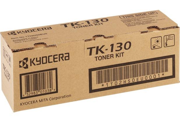 Kyocera Lasertoner TK-130 schwarz 7.200 Seiten