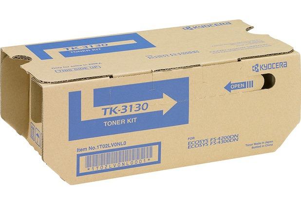 Kyocera Lasertoner TK-3130 schwarz 25.000 Seiten