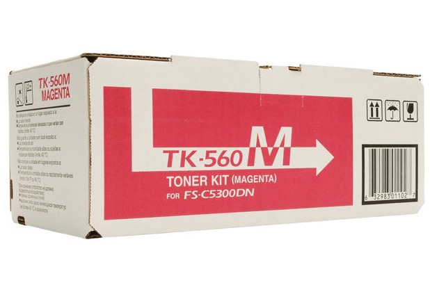 Kyocera Lasertoner TK-560M magenta 10.000 Seiten