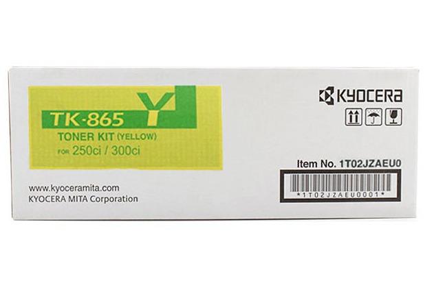 Kyocera Lasertoner TK-865Y gelb 12.000 Seiten
