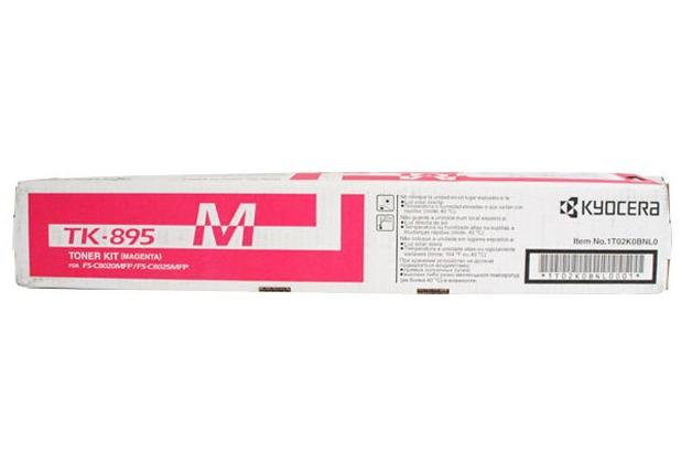 Kyocera Lasertoner TK-895M magenta 6.000 Seiten