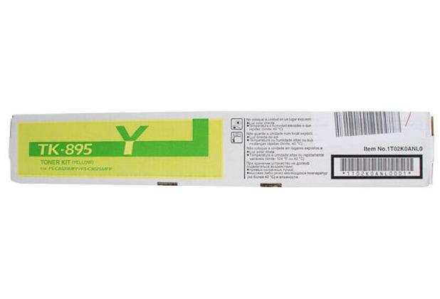 Kyocera Lasertoner TK-895Y gelb 6.000 Seiten