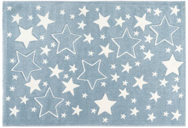 Kayoom Kinderteppich Australia - Tamworth Blau 120 x 170 cm