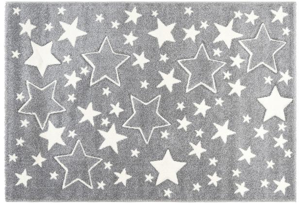 Kayoom Kinderteppich Australia - Tamworth Silber 120 x 170 cm