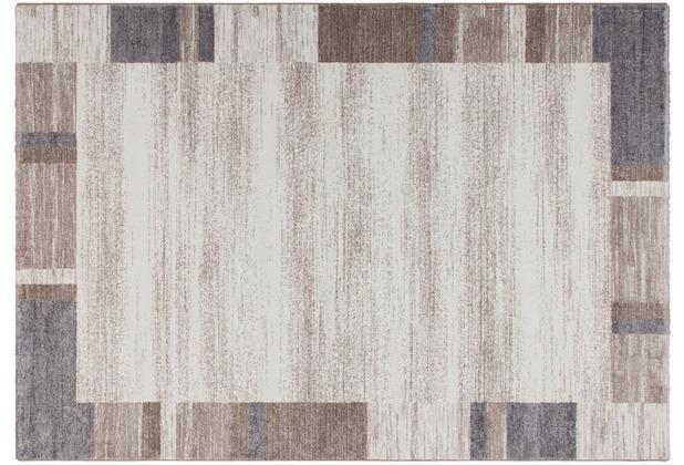 Kayoom Teppich Falkland - Darwin Beige / Silber 120 x 170 cm